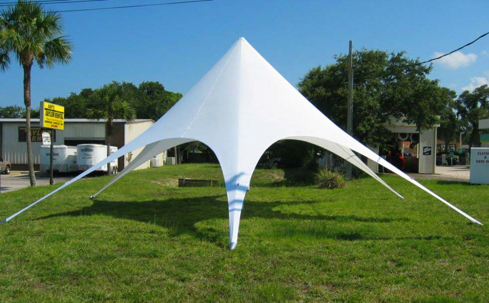 Advertising-star-shape-tent