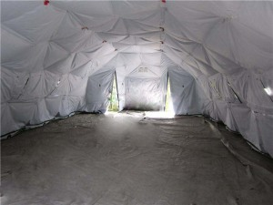 FAST OPEN MILITARY TENT - 01
