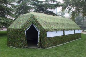 FAST OPEN MILITARY TENT - 37m2