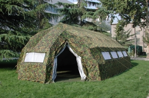 FAST OPEN MILITARY TENT - 60m2